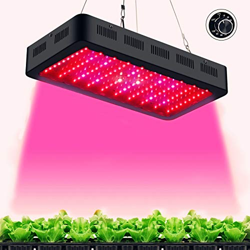 TOPLANET Lámpara de Plantas Regulable 300w Led