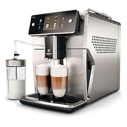 Saeco-Xelsis-SM768500-Kaffeevollautomat-innovativer-Touchscreen-Edelstahl