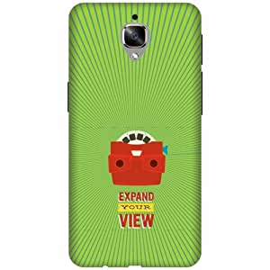 Printland Printed Hard Plastic Back Cover for OnePlus 3T -Multicolor