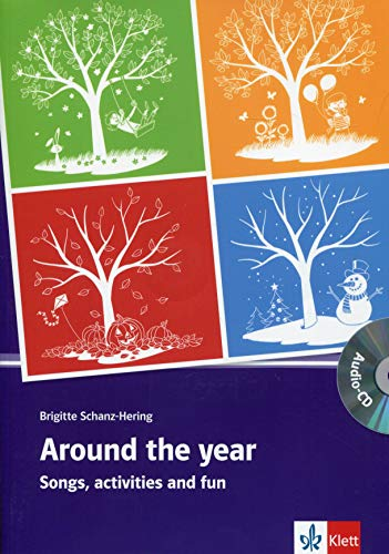 Around the year: Songs, activities and fun with music compiled by Wolfgang e. Hering. Buch mit Kopiervorlagen + Audio-CD