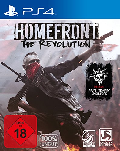 Homefront: The Revolution - Day One Edition (100{08a98147d3c9db286627a2467929aa1af41d66ccbb2583348b275ea467caa874} uncut) - [PlayStation 4]