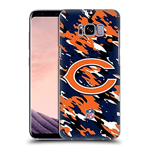 Official NFL Camou Chicago Bears Logo Hard Back Case for Samsung Galaxy S8+ / S8 Plus