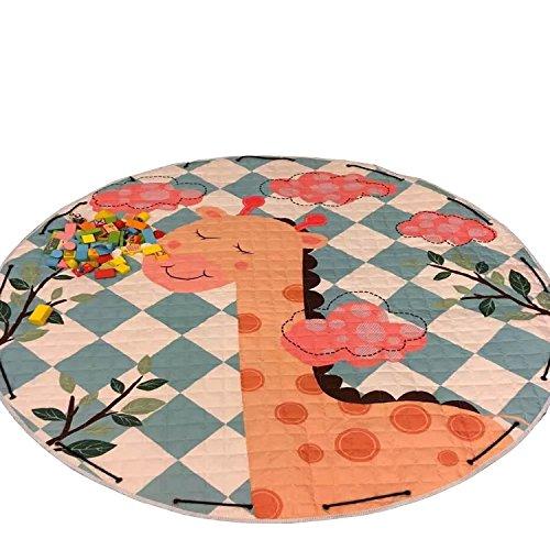 Xuanang Baby Kinder Schnelle Spielzeug Spielmatte Beutel Speicher Organisator Aufbewahrungstasche Multi-Stil Hirsch