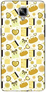 The Racoon Grip printed designer hard back mobile phone case cover for Oneplus 3T. (Mommy Yell)