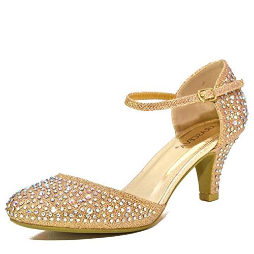 Womans gold wedding shoes amazon junglespirit Gallery