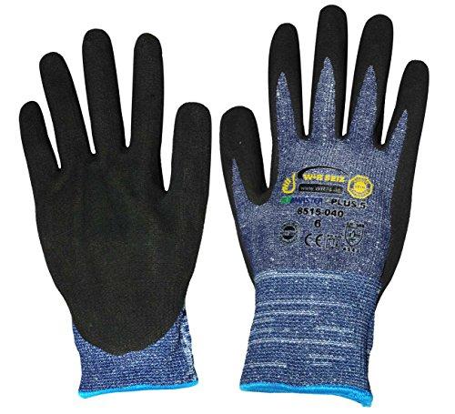 Corvus Kids at Work Ecomaster Schnittschutz-Handschuhe Gr. 6/S