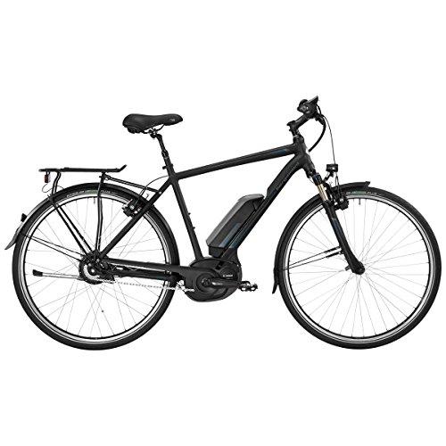 Bergamont E-Horizon N330 Herren Bosch Pedelec Elektro Fahrrad schwarz/blau 2017: Größe: 56cm (178-186cm)