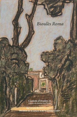 Bioulès Roma : Dons de dessins de Vincent Bioulès à l'Ecole des Beaux-Arts