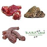 BARF 10kg Fleisch am Stück Barffutter Barffleisch Frostfutter