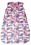 Slumbersac Reisetasche Schlafsack pink camouflage Design 0–6Monate 1Tog