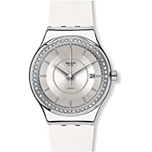 Swatch Orologio Analogico Automatico Unisex con Cinturino in Gomma YIS406