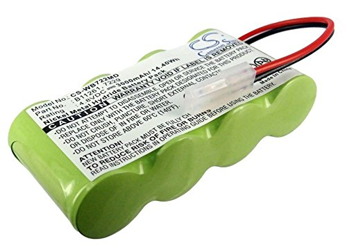 medical-144wh-battery-ni-mh-3000-mah-48-v-suitable-for-welch-allyn