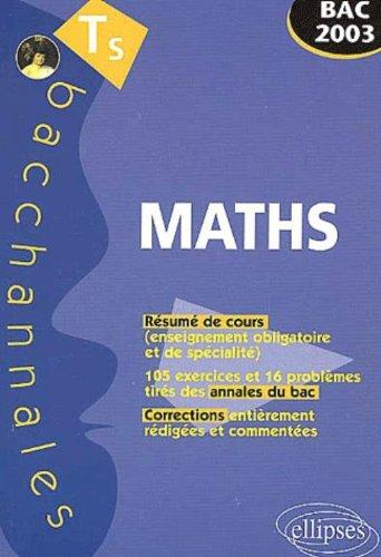Mathématiques Terminale S : Enseignement obligatoire et de spécialité