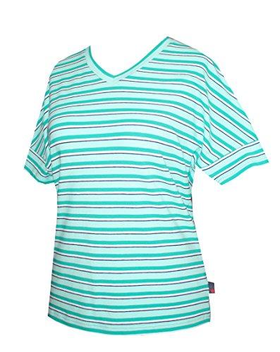 Schneider Sportswear Damen Shirt Pulli T-Shirt 40/42 Grün/Hellgrün