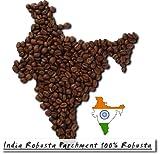 India Robusta Parchment 100% Robusta - 500g - Ganze Bohne