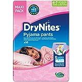 Huggies DryNites hochabsorbierende Pyjama-/ Unterhosen, Bettnässen Mädchen Jumbo Monatspackung, 4-7 Jahre (64 Stück)