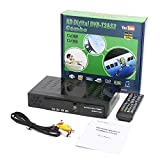 Best Full Hd Satellite Receivers - DVB-T2 & DVB-S2 Combo Digital Satellite Receiver Auto/PAL/ Review