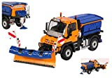 NZG NZG9102 MERCEDES UNIMOG UGE400 WINTER 1:50 MODELLINO DIE CAST MODEL