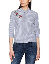 ONLY Damen Bluse Onldrive Emb 3/4 Shirt Wvn