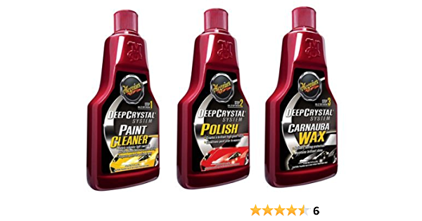 Meguiar S 3 Step Deep Crystal Long Lasting Paint Protection System Auto