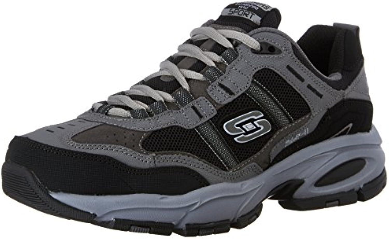 Skechers Sport Men's Vigor 2.0 Trait Memory Memory Memory Foam scarpe da ginnastica, Charcoal nero, 10 M US   Nuovi Prodotti  257664