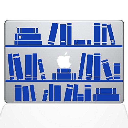 Bücherregal Bibliothek Aufkleber Vinyl Aufkleber, 33cm MacBook Air blau dunkelblau 13