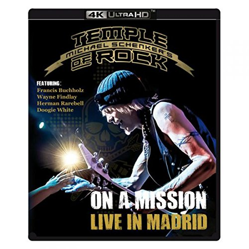 On A Mission: Live In Madrid - 4k Ultra HD Blu-ray