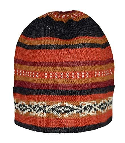 Knitted HAT Home 100% Alpaka Wollmütze Knit Unisex Mütze -