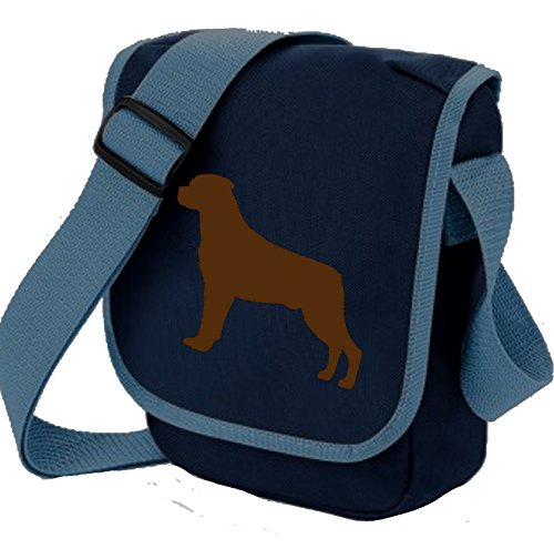 Bag Pixie - Borsa a tracolla unisex adulti Blue Bag