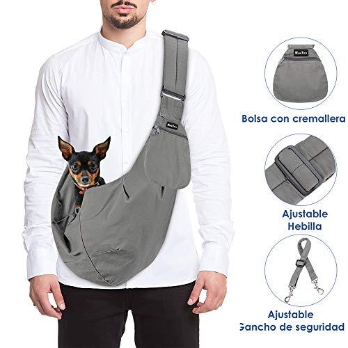 SlowTon Bolsos para Mascotas Transportín para Perros Pet Carrier Dog Hand Sling...