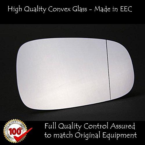 saab-9-3-espejo-lateral-vidrio-plateadoderecho-lado-del-conductor-2003-en-adelante
