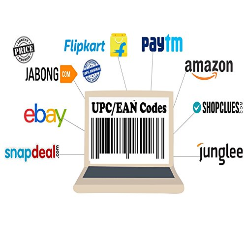 Aurmen UPC Codes Certified Bar Code For Listing On any eCommerce Marketplace 100 - UPC/EAN Codes