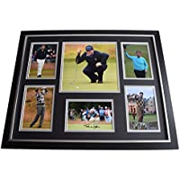 Sportagraphs Tom Watson SIGNED Framed Photo Autograph Huge display Golf Sport AFTAL & COA PERFECT GIFT