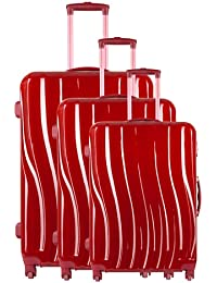 Torrente Set 3 Trolley Messa Rojo