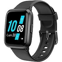 YAMAY Smartwatch con Saturimetro Misuratore Pressione Cardiofrequenzimetro Orologio Fitness Uomo Donna Impermeabile…