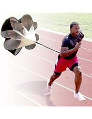 Parachute de Résistance - AGPtek Parachute portable de Course pour Entrainement de Résistance, Vitesse, Force, Endurance