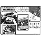 Givi T219 Alforja Soporte de Distancia para Honda Hornet 600 Bj. 07-10