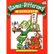 Same-Different: Holidays by Spencer Kagan (1992-01-01)