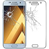 ebestStar - pour Samsung Galaxy A5 2017 A520F - Film écran en VERRE Trempé INCURVE anti casse anti-rayures (protection Intégrale, couverture complète des bords arrondis ou incurvés de l'écran), Couleur Transparent [Dimensions PRECISES de votre appareil : 145 x 71 x 7.8 mm, écran 5.2'']