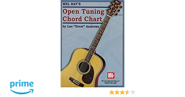 Open Tuning Chord Chart: Amazon.co.uk: Lee Drew Andrews: Books
