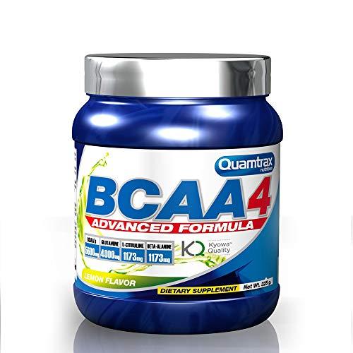 Quamtrax Nutrition Suplemento para Deportistas BCAA 4 30 Serv, Sabor a Limón - 325 gr