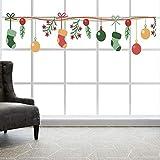 Doublelift 18pcs Home Decor Weihnachten Element Weihnachtsdekoration Wohnzimmer Badezimmer Küche Wandaufkleber selbstklebende schwarze Marmor Mosaik Wandkunst Küche Fliesen Aufkleber MTS010