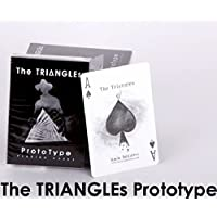 The Triangles Prototype Playing Cards Limited Edition Casino Bee Finish Deck