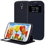 De centro de funda de piel para Samsung Galaxy S4 i9500 segunda mano  Se entrega en toda España