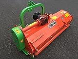 Trinciatrice a mazze spostabile e reversibile per trattori + Cardano B5 100 cm con sicurezza bullone - PUMA-160