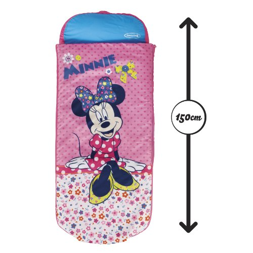 Disney Minnie Mouse Junior ReadyBed – Kids Airbed and Sleeping Bag in one