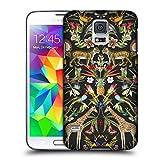 Head Case Designs Offizielle Archive Grau Tiermuster Harte Rueckseiten Huelle kompatibel mit Samsung Galaxy S5 / S5 Neo