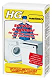 HG service engineer for washing machines and dishwashers 2 x 100gr - A special cleaner and descaler developed in co-operation with professional repairmen.