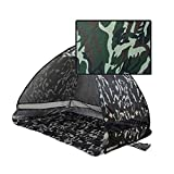 Binglinghua Pop Up Portable Plage Auvent Soleil UV Abat-jour Abri Camping en plein air Tente de pêche camouflage