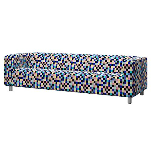 Soferia - IKEA KLIPPAN Funda sofá 4 plazas, Mozaik